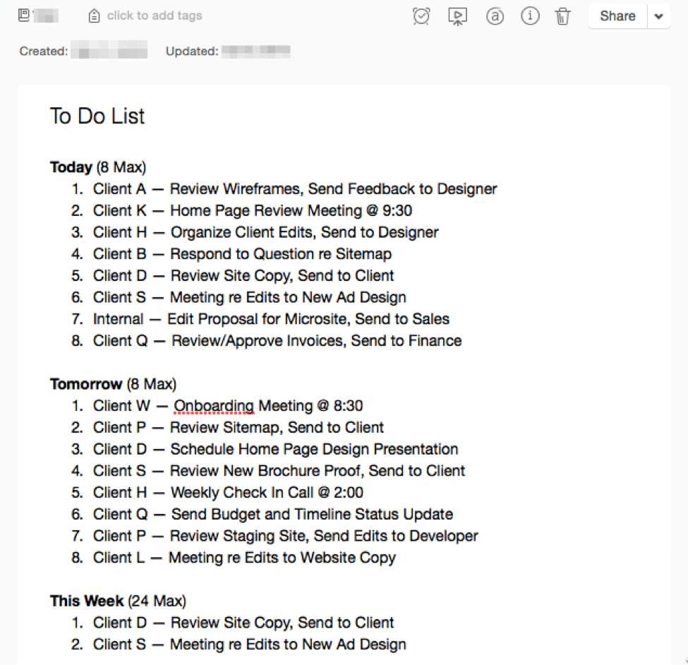 To Do List Template - 12  Free Sample, Example, Format Download ... | to do list examples