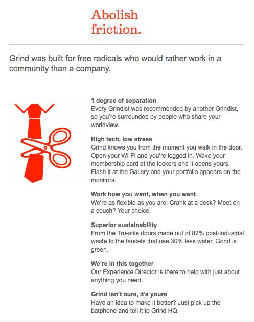 grind brand manifesto