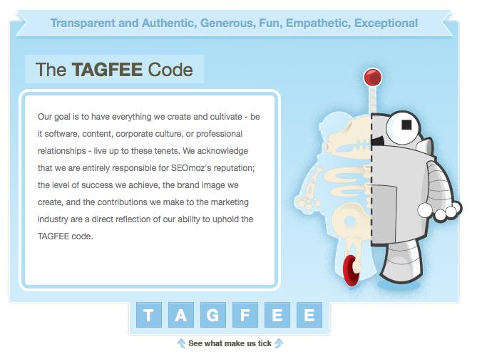 SEOMoz TAGFEE Code