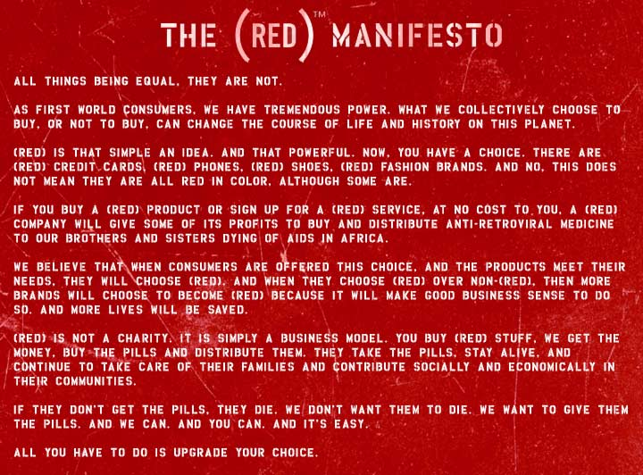 the red manifesto