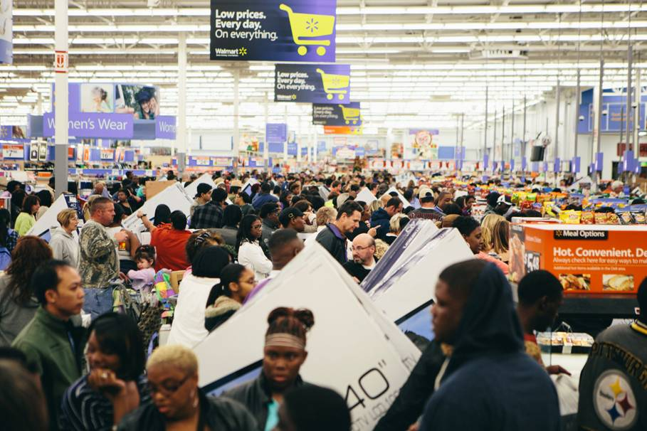black friday walmart scarcity